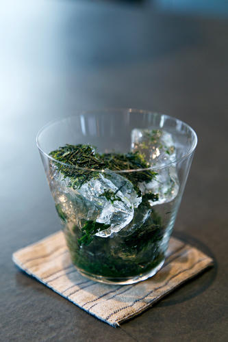 <p>Tea, like this cold-brewed gyokoro at Atera, is complicated.</p>