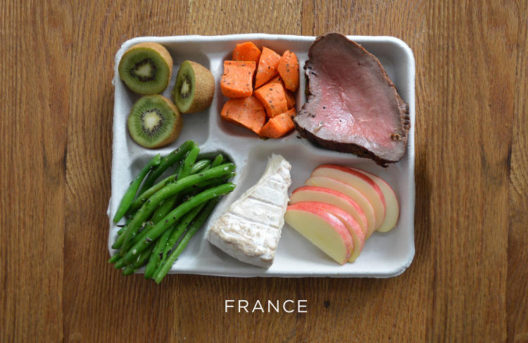 <p>The company says that the photos illustrate the basic fact that we shouldn't necessarily be eating the same thing in every location.</p>