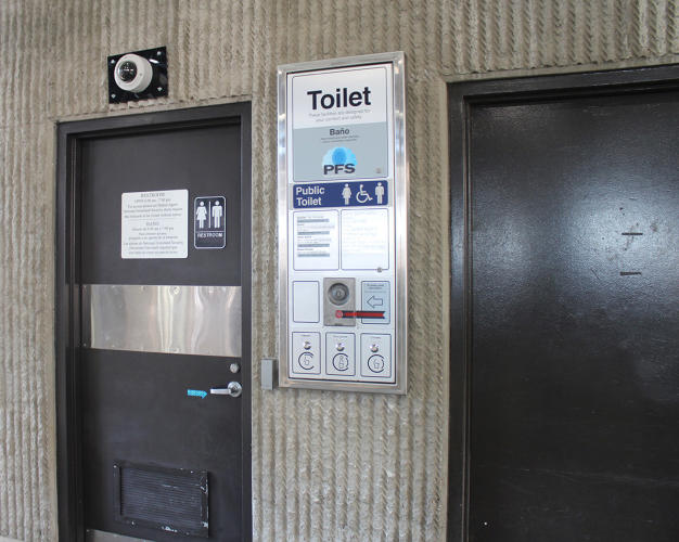 Would You Use A Subway Bathroom If It Magically Cleaned