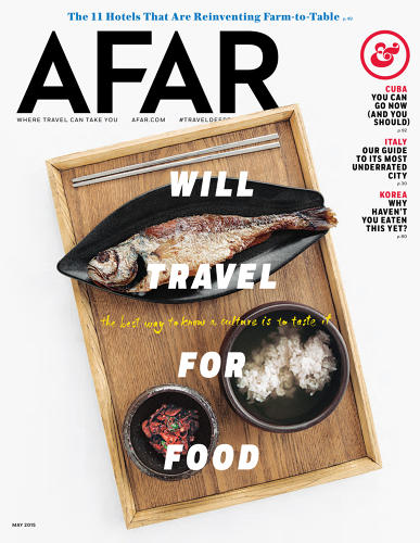 <p>If most travel magazines are like a tired &quot;Wish You Were Here&quot; postcard, the new Afar is like ripping a bespoke, hand-lettered sign off of some exotic city wall, then bringing it back in your luggage.</p>