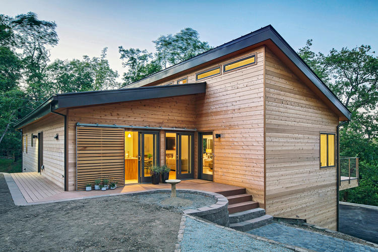 You 39 d never guess these gorgeous net zero houses were for Energy efficient kit homes