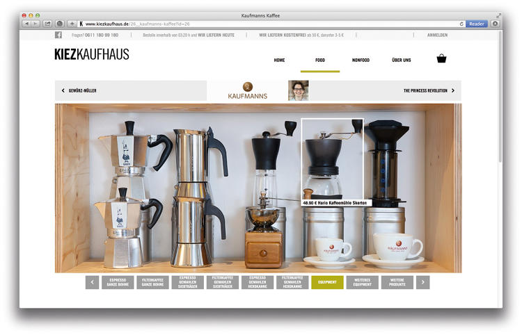 <p>In the design firm's new model, dubbed &quot;Kizekaufhaus,&quot; (roughly translated as &quot;mall of the hood&quot;) local stores join in a cooperative, each owning equal shares of the new online platform.</p>