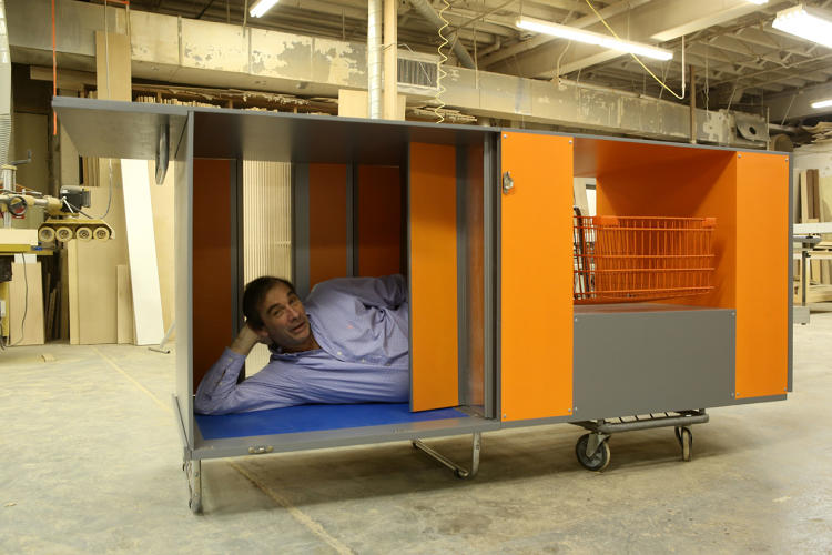 Diy Portable Shelter : Does this portable homeless shelter on wheels help solve