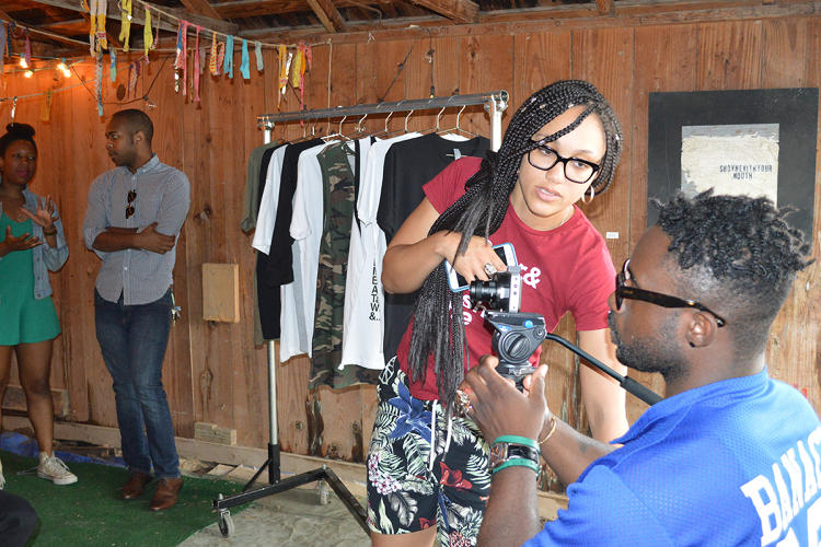 <p>The interviews she is recording at her pop-up shops are part of a documentary tentatively named <em>The Conscious Chronicles</em>. She hopes the documentary will air in weekly 15-minute segments.</p>