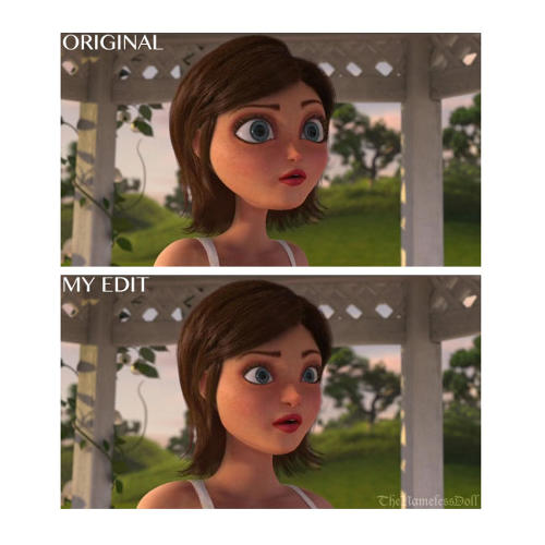 See What Famous Female Animated Characters Look Like With -1114