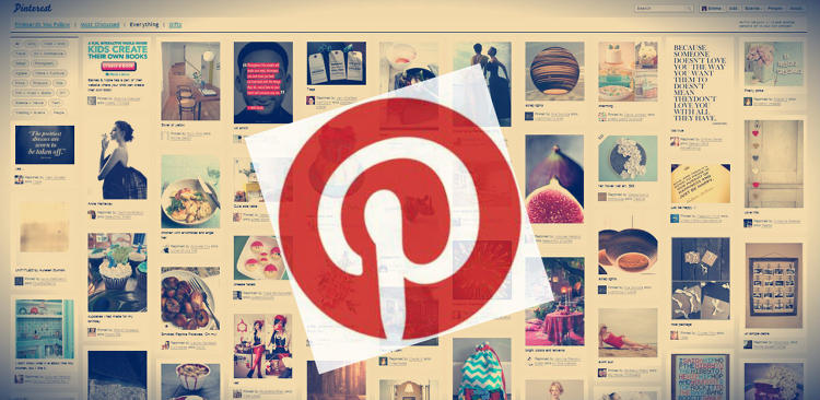<p>Pinterest: A popular social network based off of online bookmarking.</p>