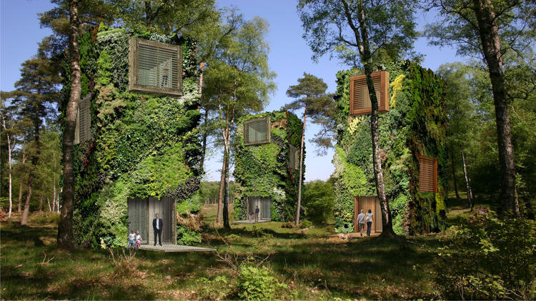 <p>If one Dutch architect gets his way, we might soon be living in car-free urban forests.</p>