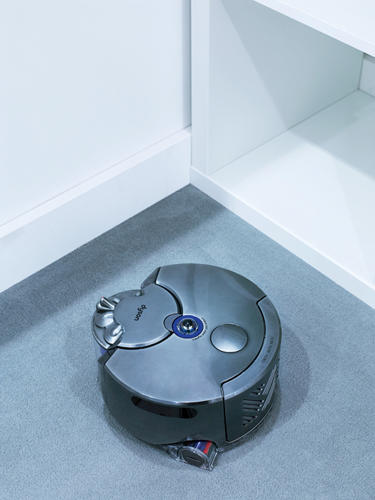 <p>Dyson's new autonomous vacuum cleaner, the 360 Eye (aka the Robot).</p>