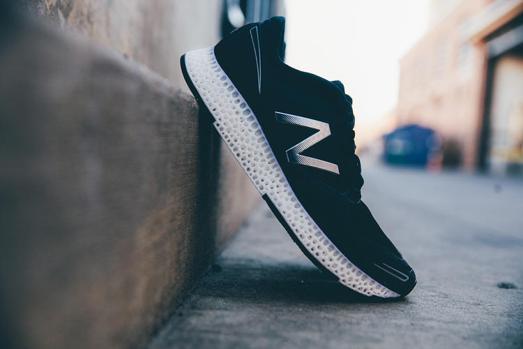 <p>But instead of gluing a traditional foam midsole into the shoe, the new shoe will incorporate a 3-D printed midsole. The upper of the shoe will still be composed of traditional cloth.</p>