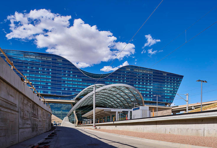 <p>The Denver International Airport Hotel and Transit Center</p>