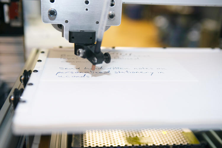 <p><a href=&quot;http://www.fastcompany.com/3041110/most-creative-people/sending-a-handwritten-letter-is-now-as-easy-as-using-gmail&quot; target=&quot;_self&quot;>But does a note in your handwriting done by a bot look like it's sent from uncanny valley? We test out letter-writing company Bond to see.</a></p>