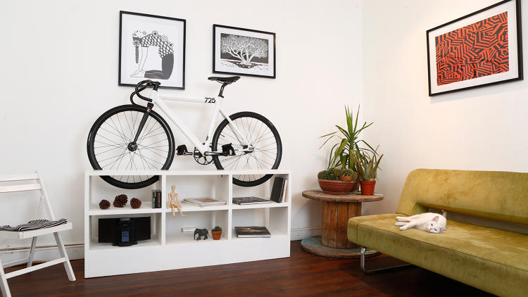 <p><strong>3. <a href=&quot;http://www.fastcoexist.com/3043095/this-furniture-doubles-as-beautiful-bike-storage-for-tiny-apartments&quot; target=&quot;_self&quot;>This Furniture Doubles As Beautiful Bike Storage For Tiny Apartments</a></strong><br /> A design centerpiece for your living room that is begging you to take a ride.</p>