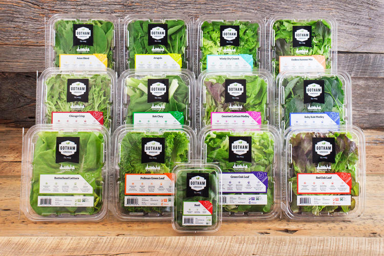 <p>Gotham Greens already has greenhouses in Brooklyn on top of former bowling alley and on a Whole Foods that stocks greens from the roof downstairs in its produce section.</p>