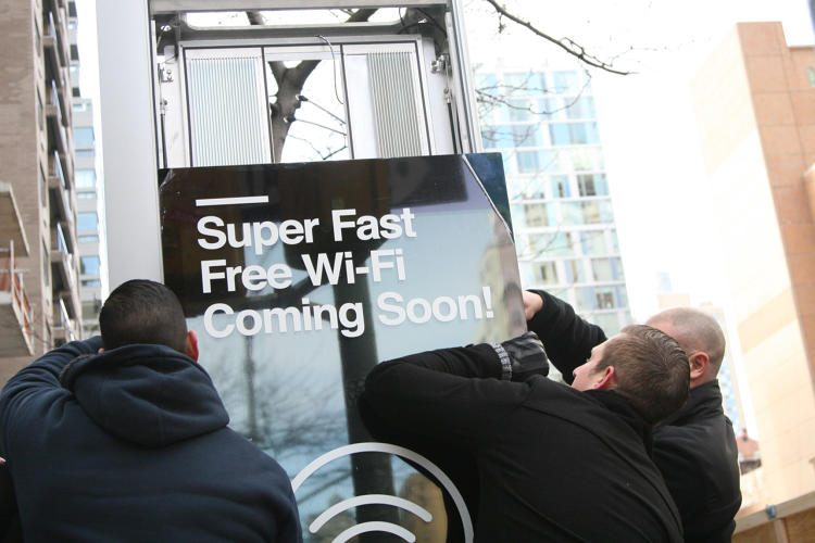 <p>They'll also provide free domestic calling, Internet browsing, and USB charging.</p>