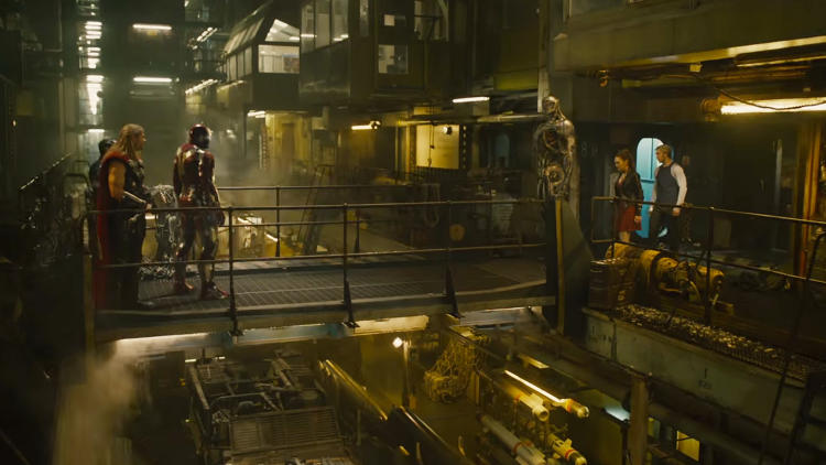 <p>With <em>Avengers: Age of Ultron</em>, Industrial Light and Magic redesigned the Hulk's mucularskeletal structure, skin, and hair to control nuance and infuse more of a soul. ILM was one of 20 VFX companies working on this film.</p>