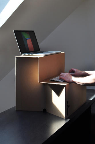<p>The desk is called the Oristand.</p>