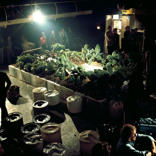 <p>Gruppo 9999, prototype for the Vegetable Garden House at the Mondial Festival, Space Electronic, Florence, 1971.</p>