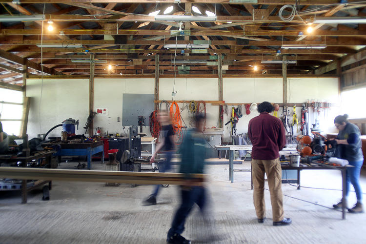 <p>Then they decided to start designing tiny homes--a step up from a shack--and reached out to local schools and carpentry training programs to help.</p>
