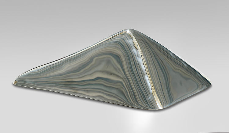 <p><em>70 cm from not being the highest point in Sweden</em><br /> Kebnekaise, 2097,5 m, measured on 27 Aug, 2014<br /> Mirror polished stainless steel<br /> 210 x 110 x 70 cm<br /> Bigert &amp; Bergström 2016</p>
