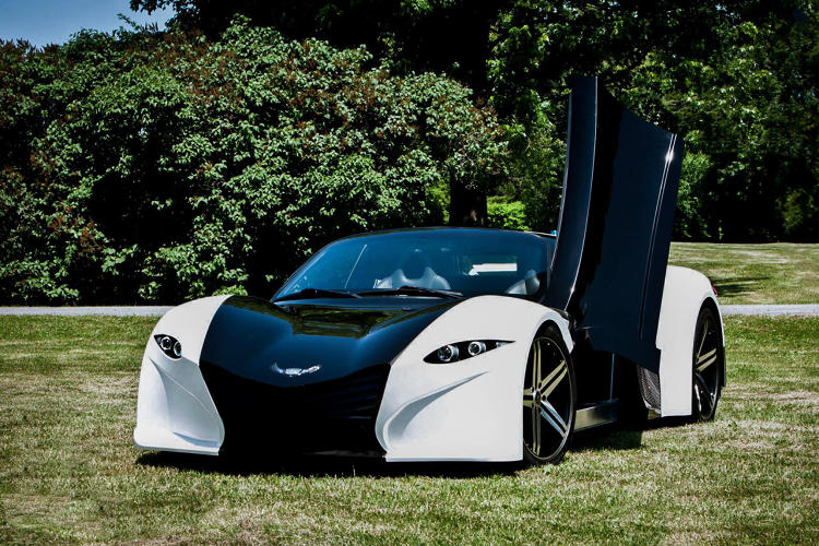 <p>By the time of production, the designers plan for the car to be able to drive 300 miles on a single charge of the electric battery.</p>