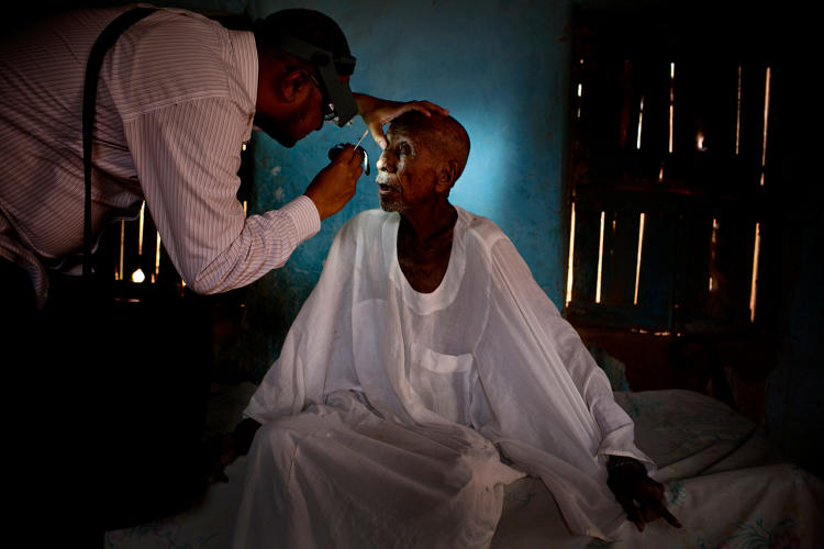 <p>In fact, trachoma specialists think it's possible to eradicate it completely and permanently from the world.</p>