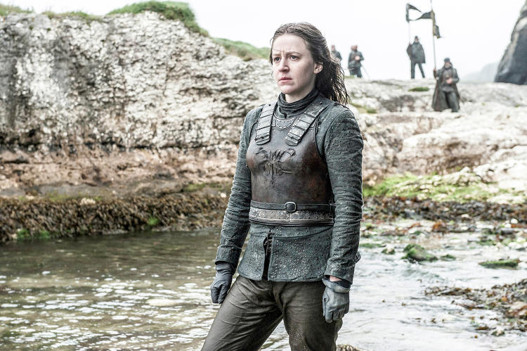 <p><strong>Gemma Whelan</strong> returns as Theon Greyjoy's no-nonsense sister, Yara.</p>