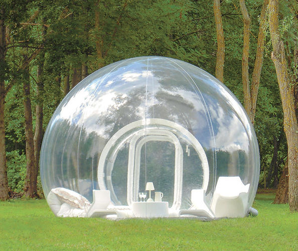 <p>Cristal Bubble inflatable hotel, Pierre Stéphane Dumas; France</p>