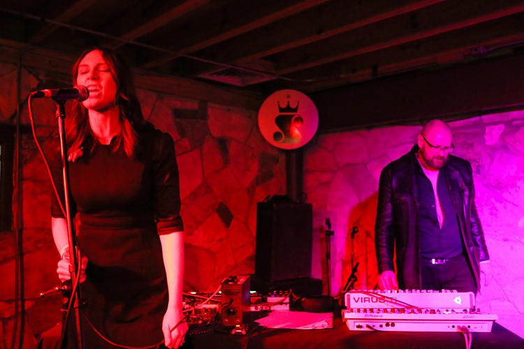 <p>Consumer Electronics performs following a satanic ritual in Austin.</p>