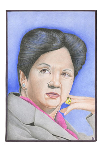 <p>CEO of Pepsico Indra Nooyi. Captured by John Vercusky (Prison ID #55341-066)</p>