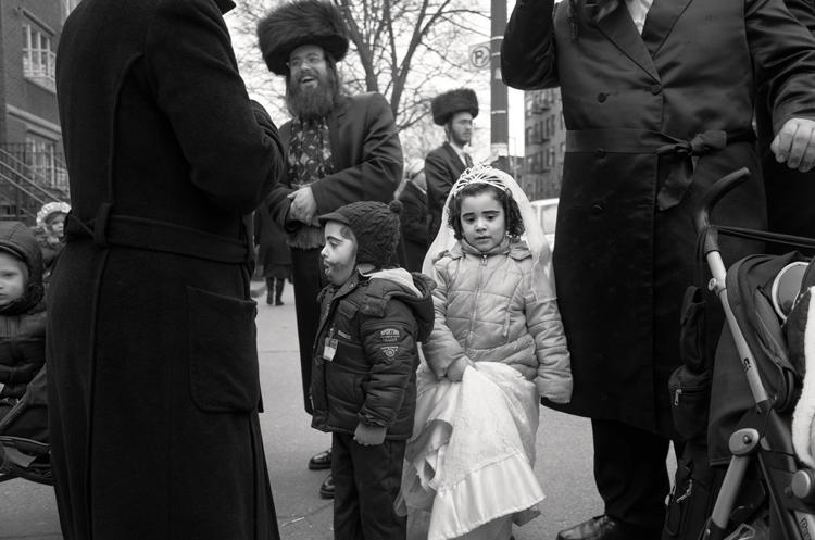 <p><em>Kids in Costumes - Purim 2014</em> on Bedford Avenue, Brooklyn, NY</p>