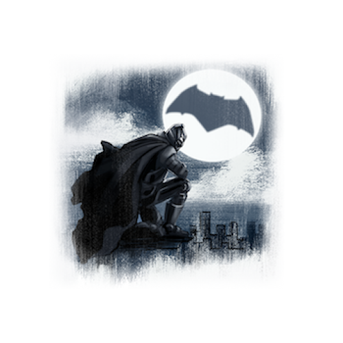 <p>Gotham's Dark Knight, valiantly protecting your news feed</p>
