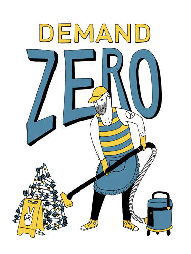 <p>Demand Zero by Naomi Sloman</p>