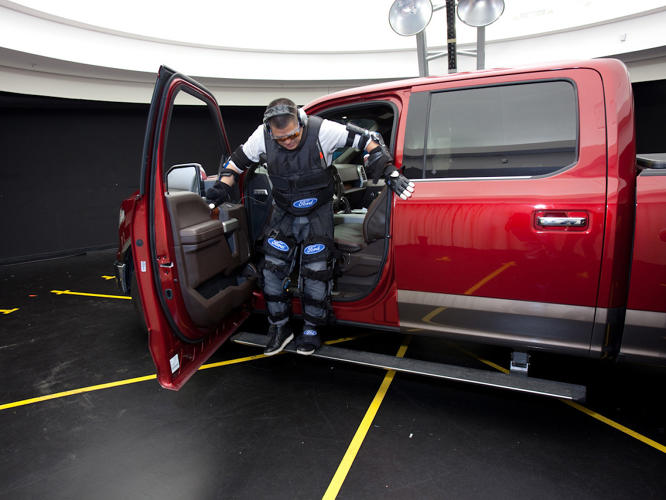 <p>Ford's aging suit is meant to help engineers develop empathy for users unlike themselves.</p>