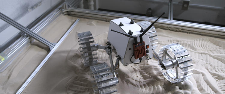 <p>Rover from the Japan-based Google Lunar XPrize team, <strong>Hakuto</strong></p>