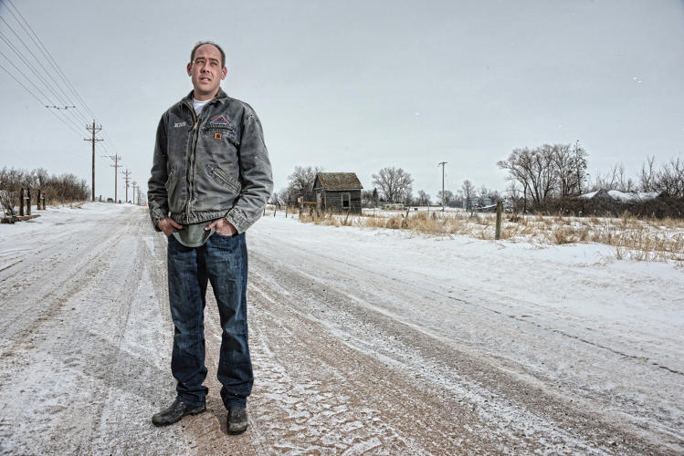 <p>Ken, an electrician from Maryland came to work in the oil fields in Rawson, ND.</p>