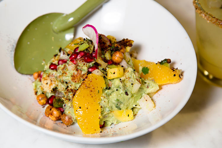 <p>Bug-enhanced dishes have also been finding their way onto the menus of more American restaurants. Here's the black ant guacamole at Black Ant.</p>