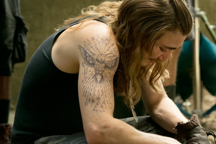 Outsiders 39 ryan hurst on the importance of finding a for The outsiders tattoo