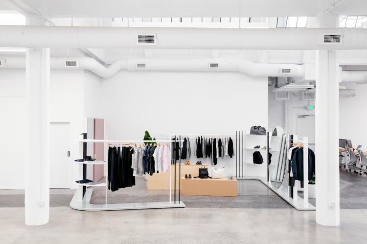 <p>BROOK&amp;LYN, the LA-based studio that designed the store concept to reflect the company's pared-down aesthetic and goal of transparency.</p>