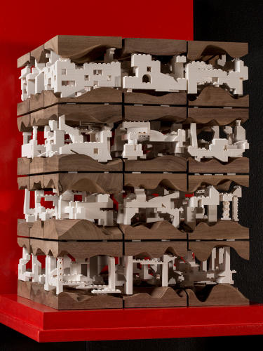 <p>Krueck + Sexton Architects meditated on urban density, at the scale of &quot;a room, a house, a building, a city block, a district, and a city.&quot;</p>
