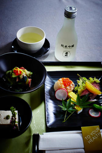 <p>Selection of Japanese cuisine—Delta Asia</p>