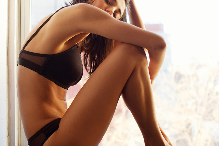 <p>Over the last year, she's been scouring the best performance fabrics available to create her ideal underwear.</p>