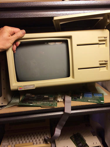 <p>Apple's Lisa computer, the ill-fated predecessor to the Macintosh.</p>