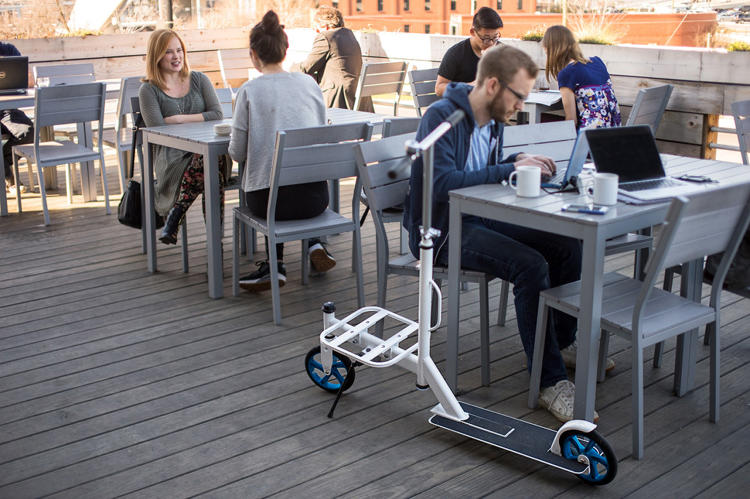 <p>Nimble Scooter just released an urban scooter designed for cities.</p>