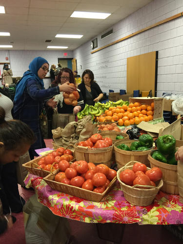 <p>There are three free markets at Cambridge elementary schools.</p>