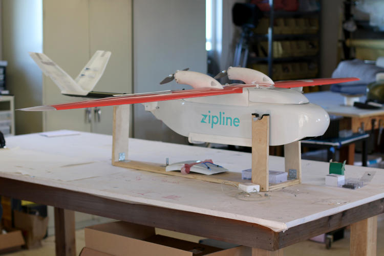 <p>The team realized they'd have to design an aircraft from scratch—something that could fly in the worst wind and rain and over longer distances.</p>