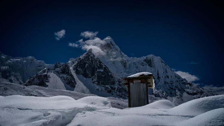<p>Outhouse, Sagarmatha National Park, Nepal</p>