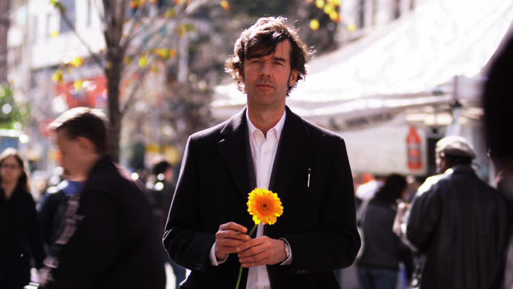 "<p>During the cognitive behavioral therapy experiment, Sagmeister follows his doctor's advice to ""seek discomfort"" by attempting to pick up a woman on the street.</p>"