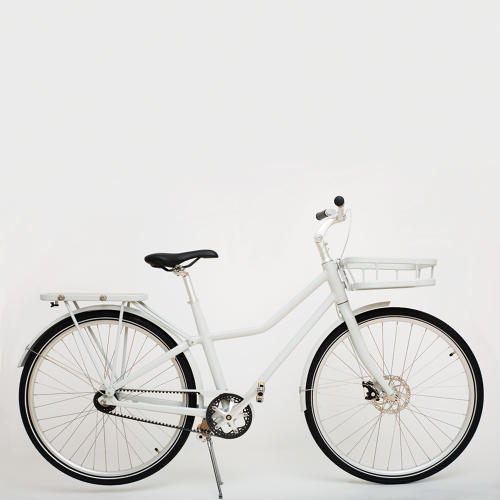 <p>Ikea's new unisex bike has a simple click-on system that lets users instantly pop on accessories if they need to carry something bigger than usual.</p>