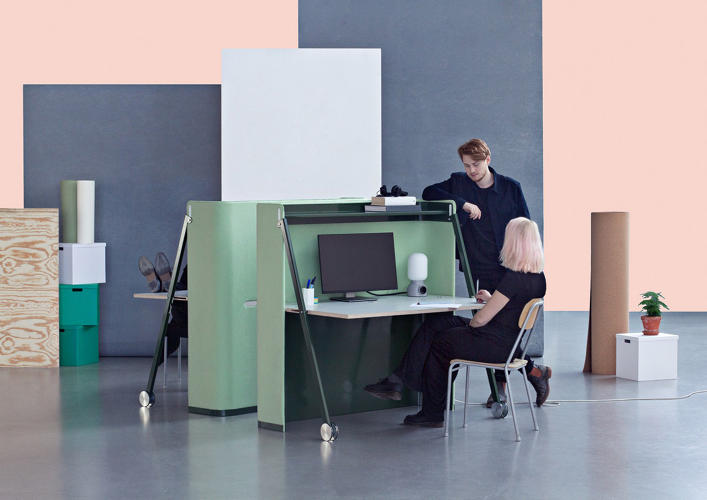 12 brilliant design ideas for small offices and small for Office design news