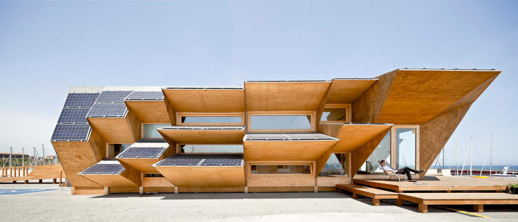 <p>The Endesa Pavilion Photo: © Adrià Goula/MARGEN-LAB via <a href=&quot;http://www.archdaily.com/274900/endesa-pavilion-iaac&quot; target=&quot;_blank&quot;>Arch Daily</a></p>